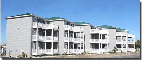 The Smallest Condo Complex In Sandbridge Seaside Offers A Relaxing Place To Rest Up After Day On Beach Some Units Have Ocean Views
