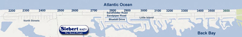 Map of Sandbridge