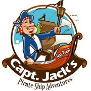 Capt. Jack's Pirate Ship Adventure Logo