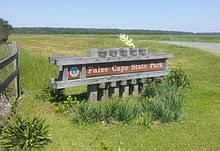 False Cape State Park Logo