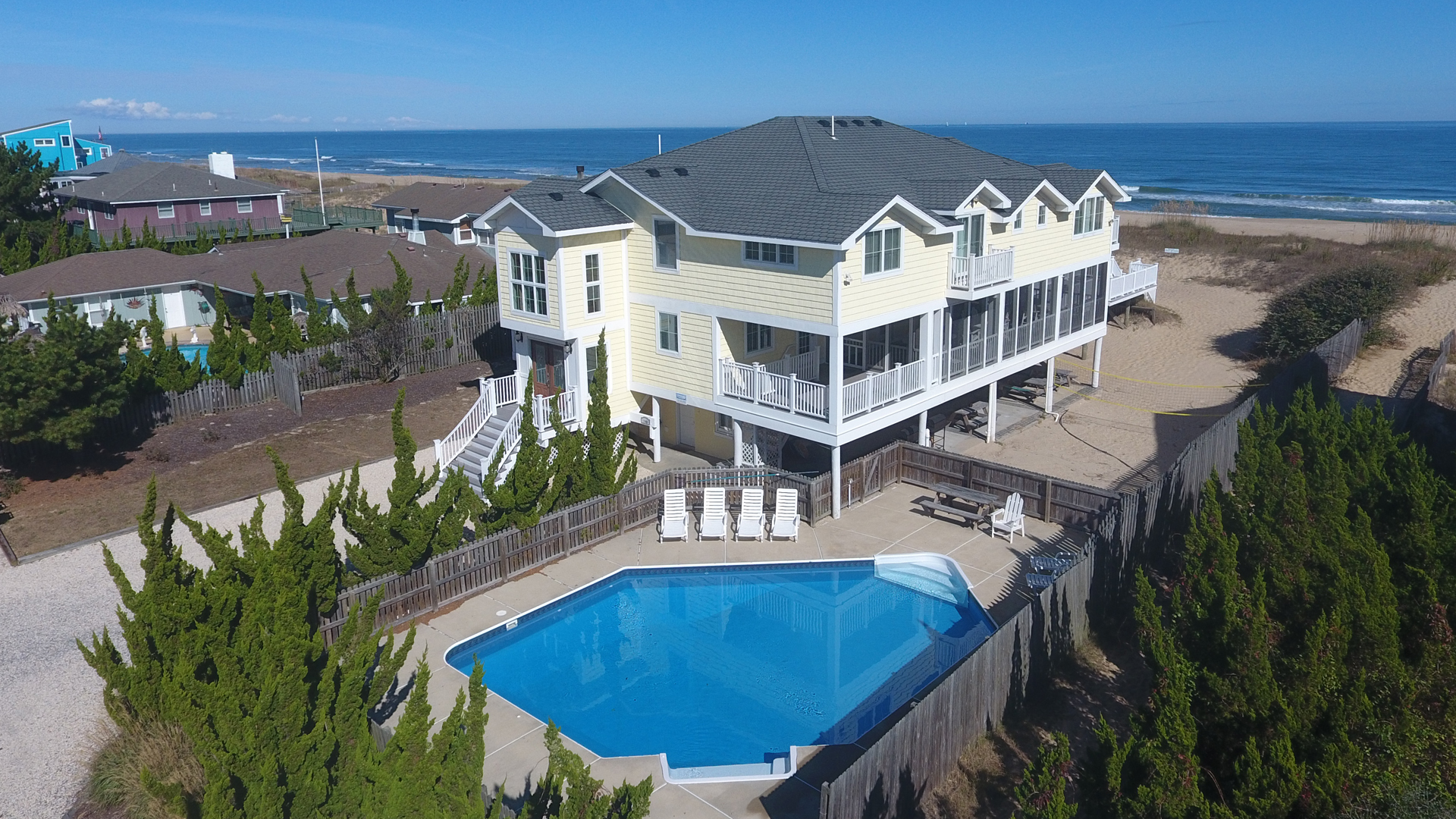 Seafarer - 11 Bedroom Sandbridge Beach Rental | Sandbridge ...