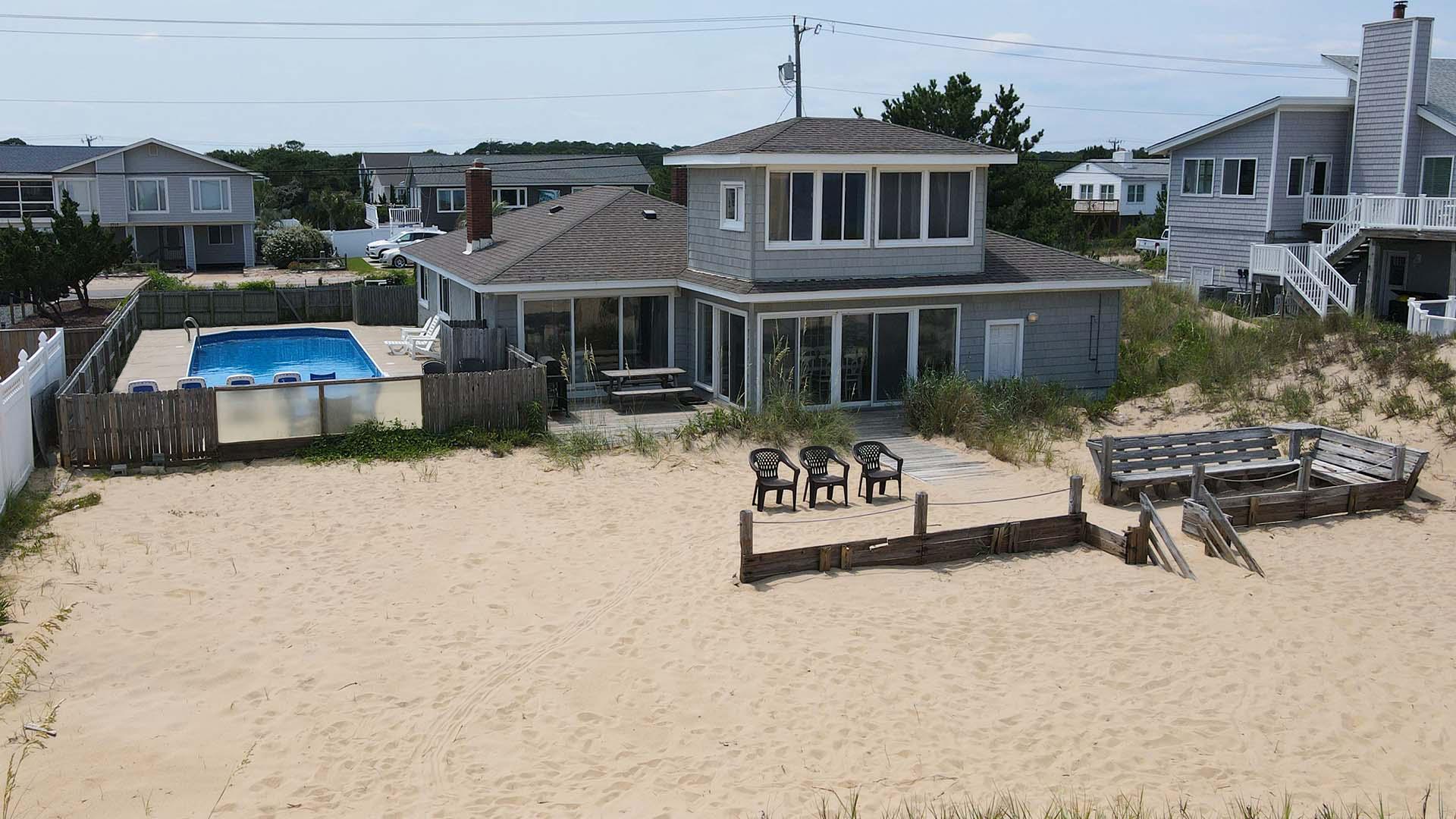 Ebb Tide 4 Bedroom Sandbridge Beach Rental Sandbridge