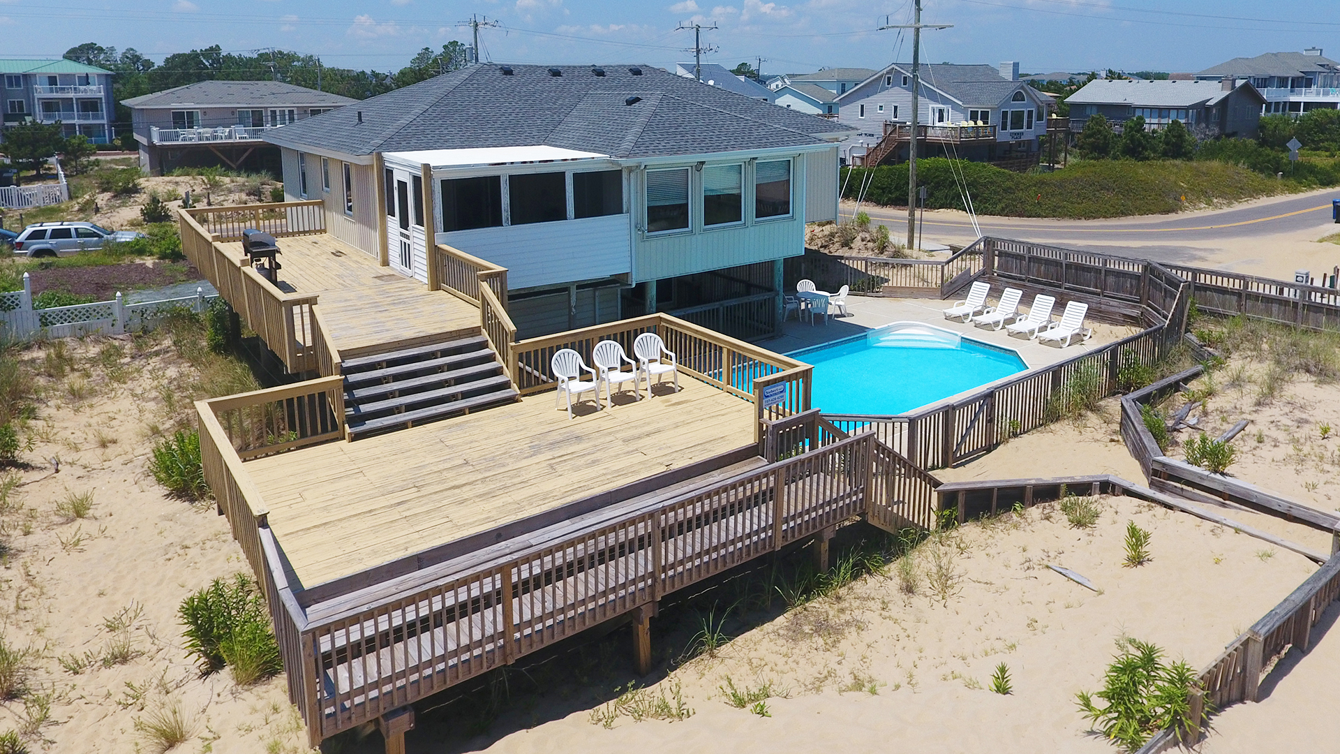 Swept Away  5 Bedroom Sandbridge Beach Rental